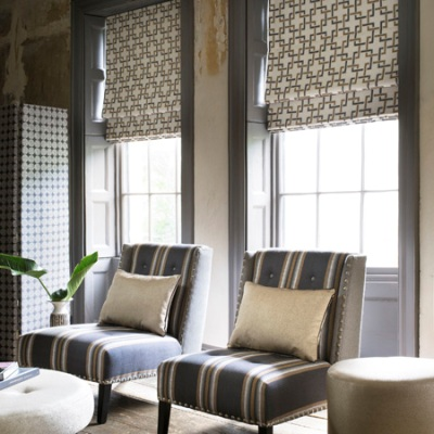 Made to Measure Roman Blinds - Clarke & Clarke